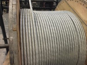 Galvanised Steel wire braid